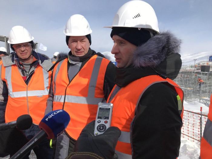 Министр по развитию Дальнего Востока Александр Козлов в Каларском районе Забайкалья