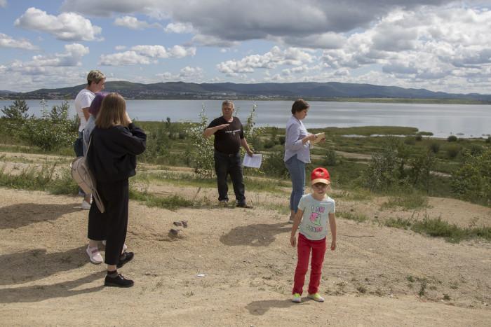Выездное занятие на озеро Кенон