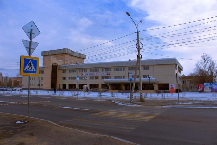 Фасад театра национальных культур в Чите